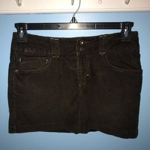American Eagle corduroy miniskirt